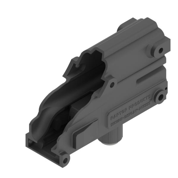 Raptor Holster Glock Secure Locking Pistol Mount Raptor