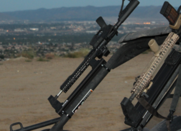 Weapon Mounting System For Off Road Applications